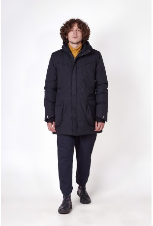"Winter parka ""Black"""