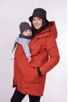 "Winter babywearing jacket ""Bossa Nova"""