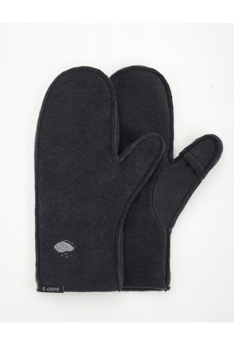 Gloves Grey Polartec