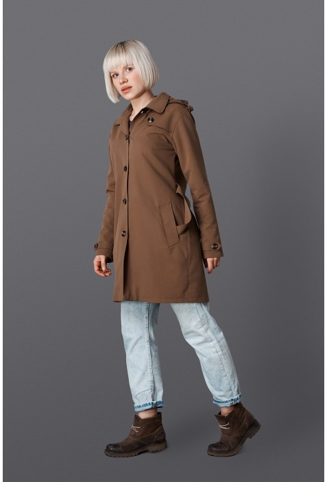 "Trenchcoat ""Wood"""